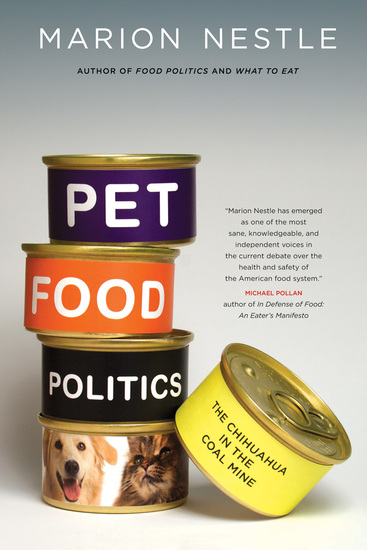 Pet Food Politics - The Chihuahua in the Coal Mine - cover