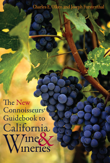 The New Connoisseurs' Guidebook to California Wine and Wineries - cover