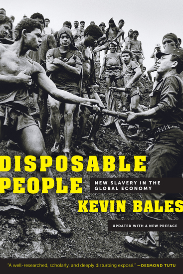 Disposable People - New Slavery in the Global Economy Updated with a New Preface - cover