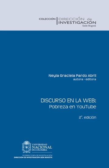 Discurso en la Web: pobreza en YouTube (Segunda Edición) - cover