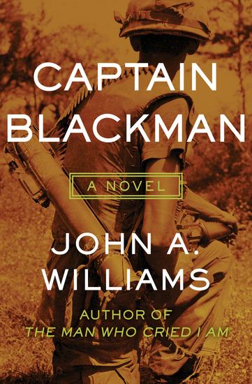 Captain Blackman - A Novel - cover