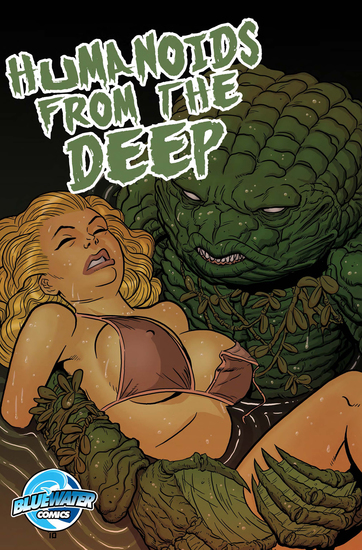 Humanoids from the Deep - cover