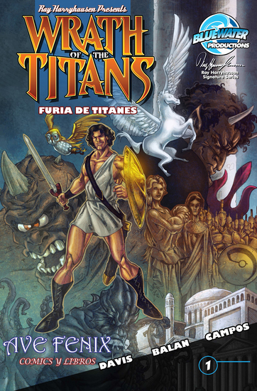 Wrath of the Titans (Spanish Edition) - cover