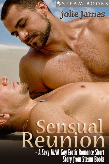 Sensual Reunion - A Sexy M M Gay Erotic Romance Short Story from Steam Books - cover