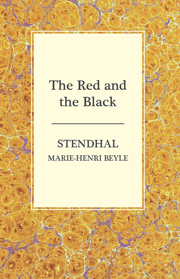 an analysis of the red the black by stendhal