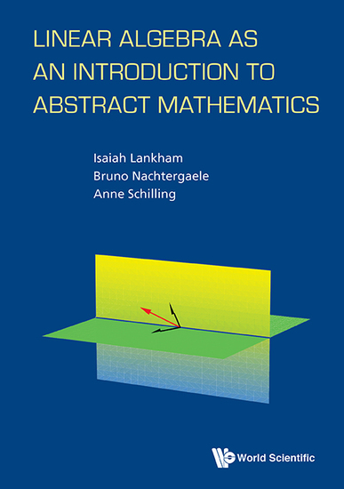 Linear Algebra as an Introduction to Abstract Mathematics - cover