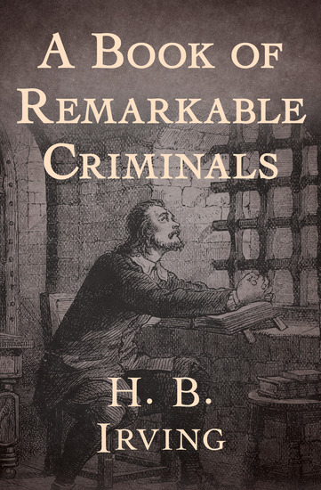 A Book of Remarkable Criminals - cover