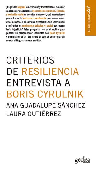 Criterios de resiliencia Entrevista a Boris Cyrulnik - cover