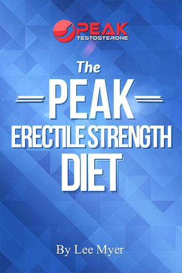 Peak Erectile Strength Diet - cover