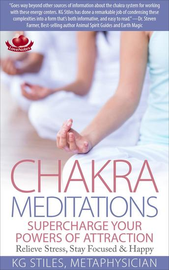 Chakra Meditations Supercharge Your Powers of Attraction Relieve Stress Stay Focused & Happy - Healing & Manifesting Meditations - cover