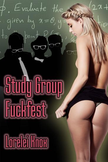 Study Group Fuckfest (college gangbang erotica) - cover
