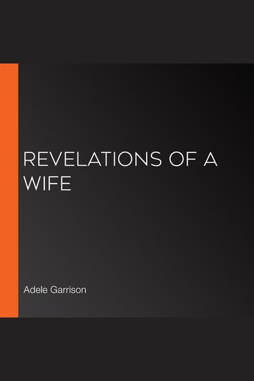 Revelations of a Wife - cover