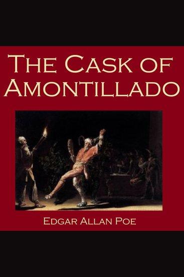 The Cask of Amontillado - cover