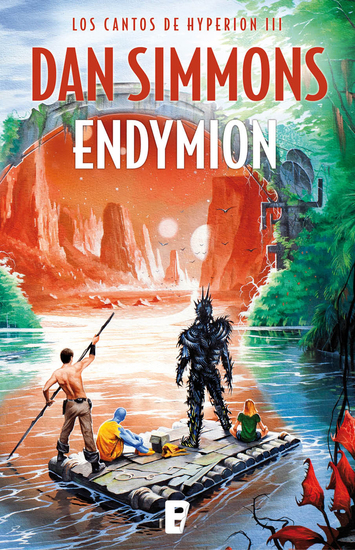 Endymion (Los cantos de Hyperion III) - cover