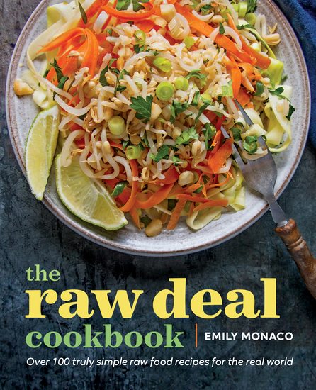 Food Book Cover Quest : The raw deal cookbook truly simple plant based food