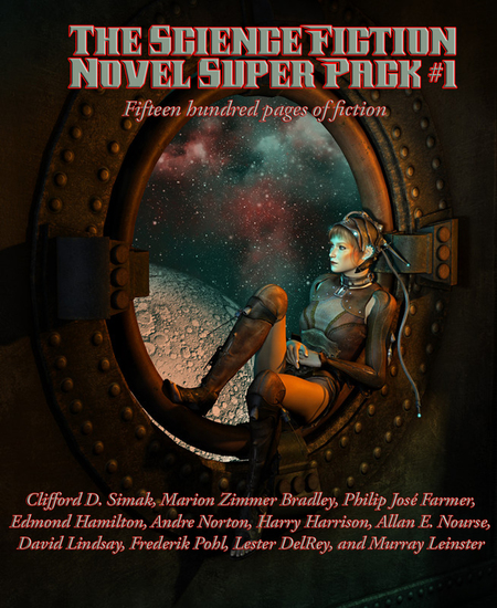 The Science Fiction Novel Super Pack No 1 - Fifteen hundred pages of fiction - cover