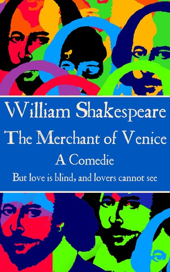 """The Merchant of Venice - """"But love is blind and lovers cannot see"""" - cover"""