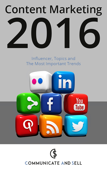 Content Marketing 2016: Influencer Topics and The Most Important Trends - 2 Advanced Edition - cover