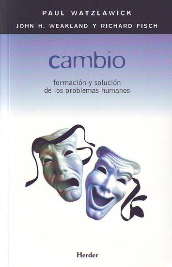 Cambio - Formacion y solucion de los problemas humanos - cover
