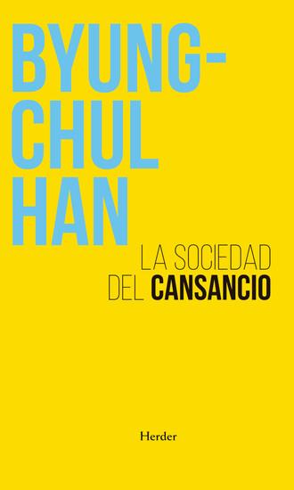 La sociedad del cansancio - cover