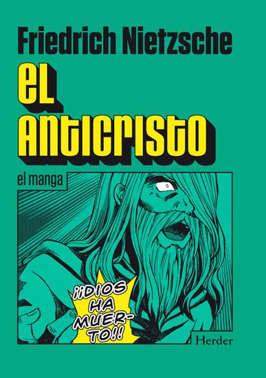 El Anticristo El manga - cover