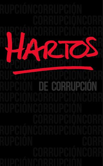Hartos de corrupción - cover