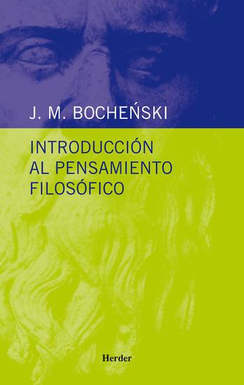 Introducción al pensamiento filosófico - cover