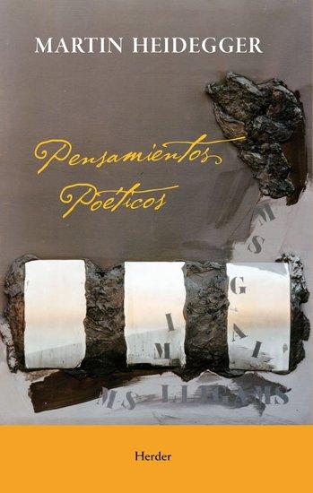 Pensamientos poeticos - cover