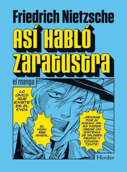 Así habló Zaratustra - el manga - cover