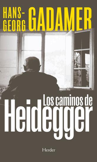 Los caminos de Heidegger - cover