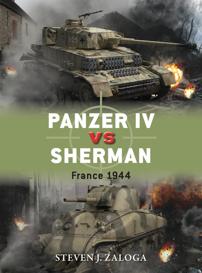 Panzer IV vs Sherman - France 1944 - cover
