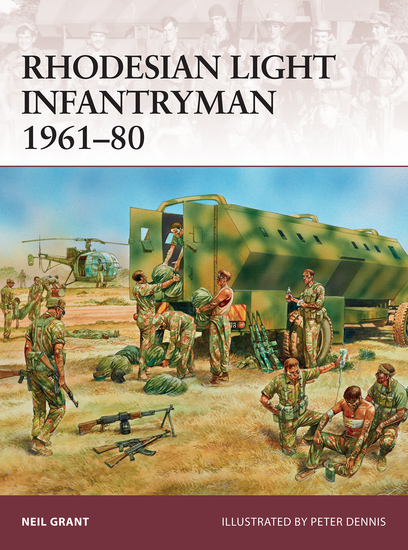 Rhodesian Light Infantryman 1961–80 - cover