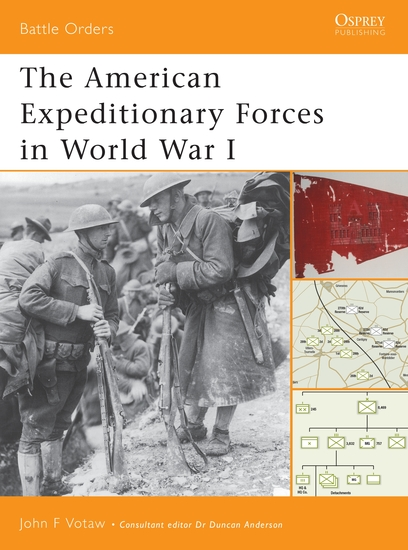The American Expeditionary Forces in World War I - cover