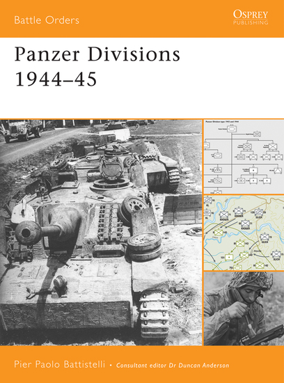 Panzer Divisions 1944–45 - cover