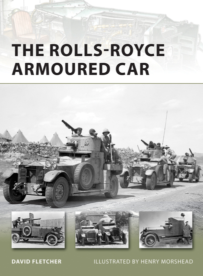 The Rolls-Royce Armoured Car - cover