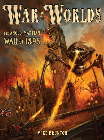 War of the Worlds - The Anglo-Martian War of 1895 - cover