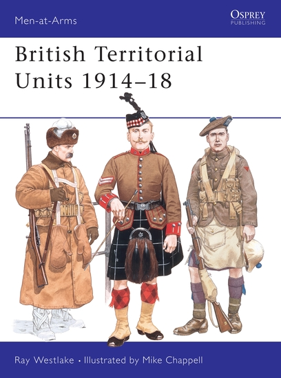 British Territorial Units 1914–18 - cover