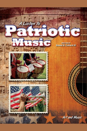 Listen to Patriotic Music A - Art and Music - cover