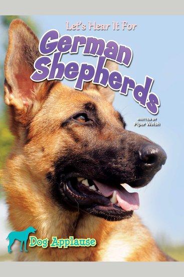 Let's Hear It For German Shepherd - cover