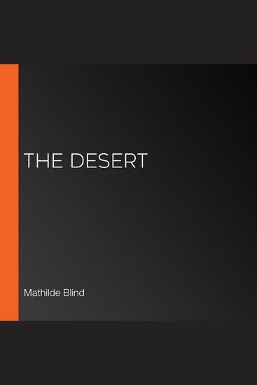 The Desert - cover