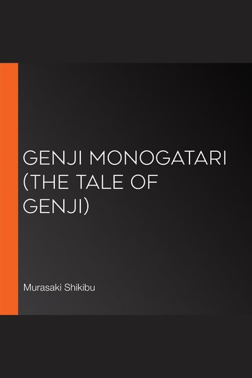 Genji Monogatari (The Tale of Genji) - cover