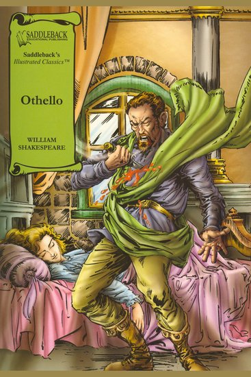 Othello (A Graphic Novel Audio) - Graphic Shakespeare - cover
