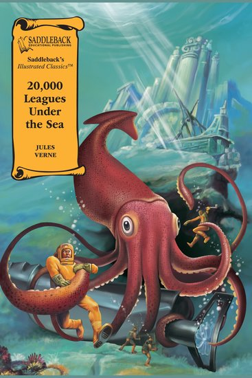 20000 Leagues Under the Sea (A Graphic Novel Audio) - Illustrated Classics - cover