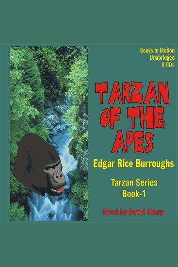 Tarzan of the Apes - Tarzan Series Book-1 - cover