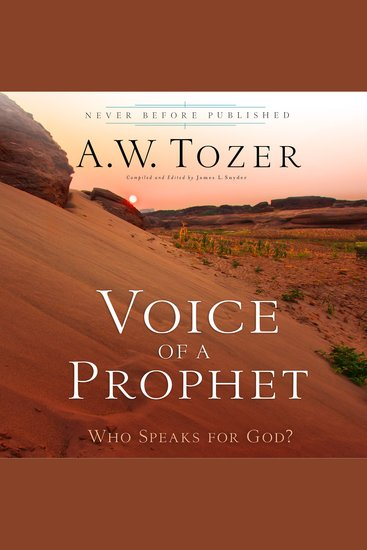 Voice of a Prophet - Who Speaks for God? - cover