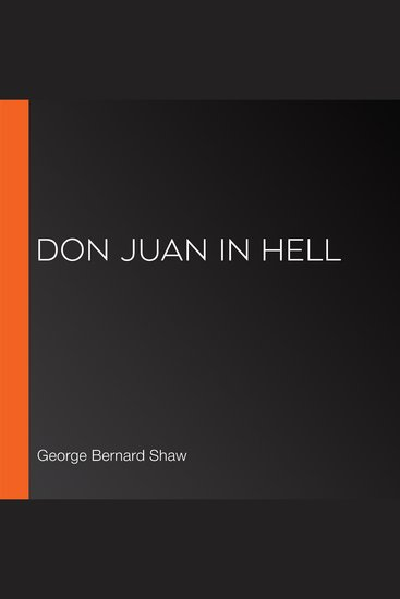 Don Juan In Hell - cover