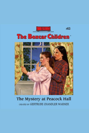 The Mystery at Peacock Hall - cover