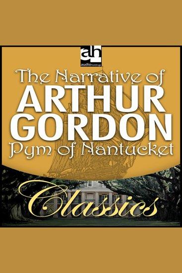 The Narrative of Arthur Gordon Pym of Nantucket - cover
