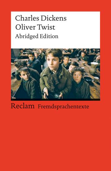 Oliver Twist - Abridged Edition (Reclams Rote Reihe - Fremdsprachentexte) - cover