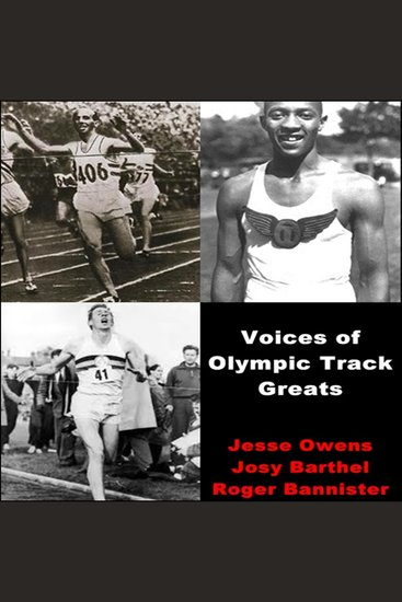 Voices of Olympic Track Greats - cover